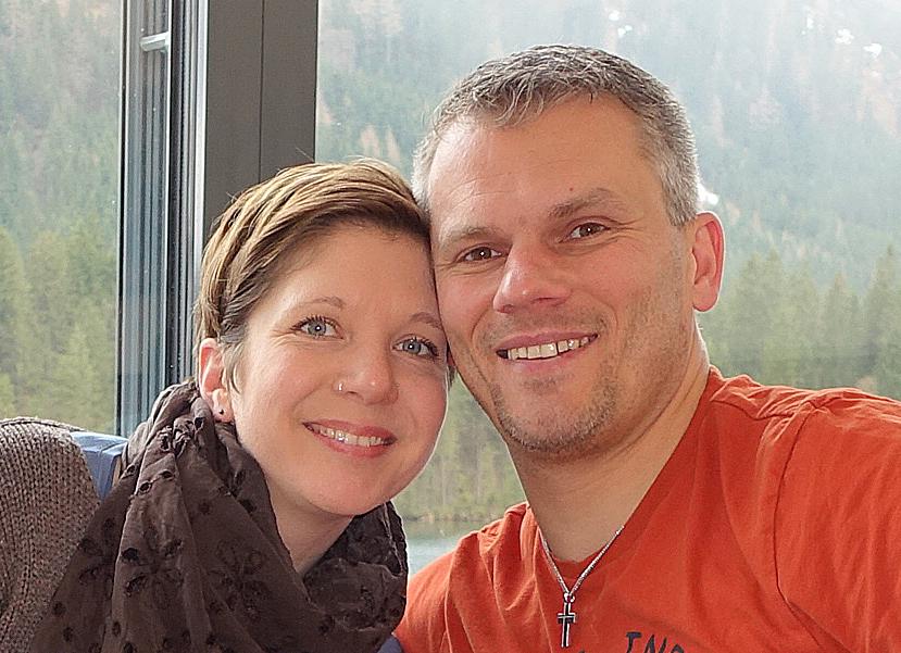 Andrea Übler-Winter und Martin Übler