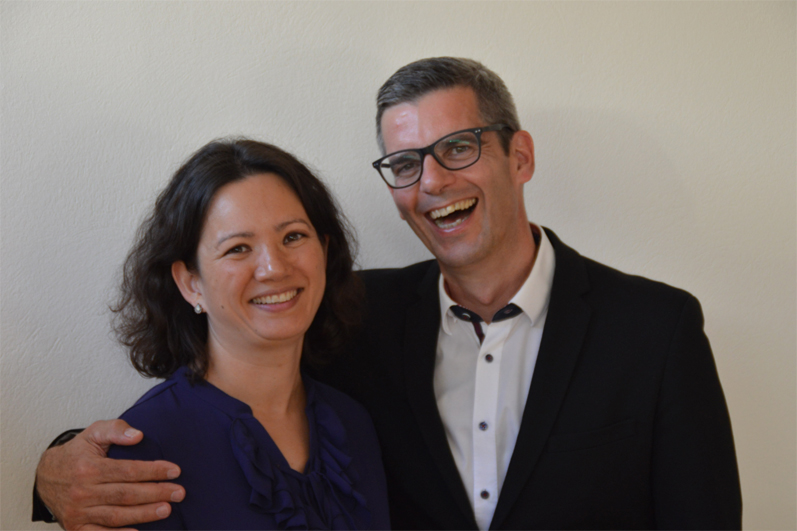 Tanja und Gerd Hutschenreuter