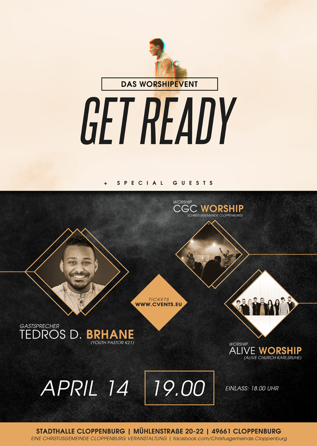 GET READY - DAS WORSHIPEVENT