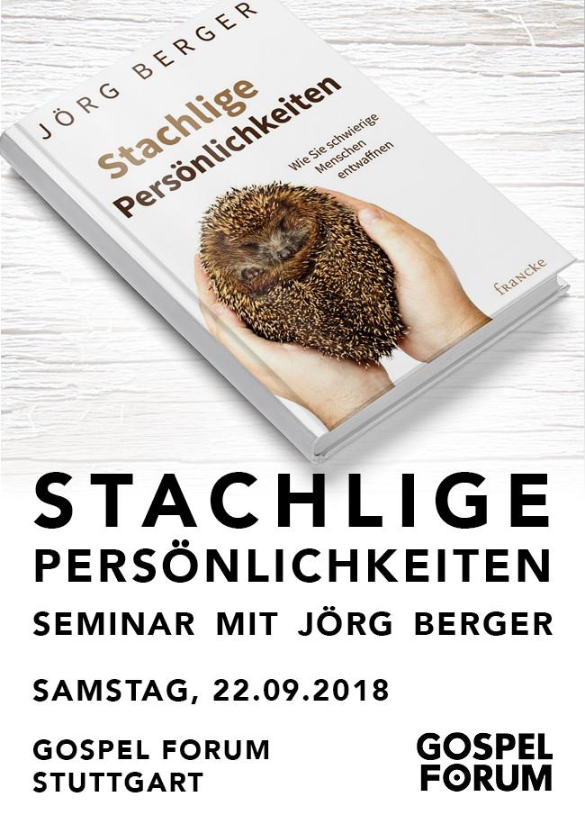 Stachlige Persönlichkeiten - Seminar mit Jörg Berger