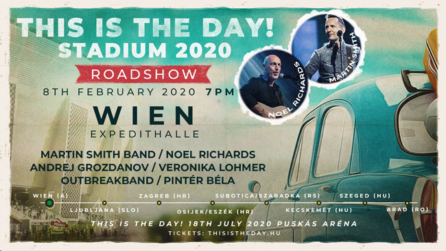 This is the day! Stadium 2020 Roadshow
