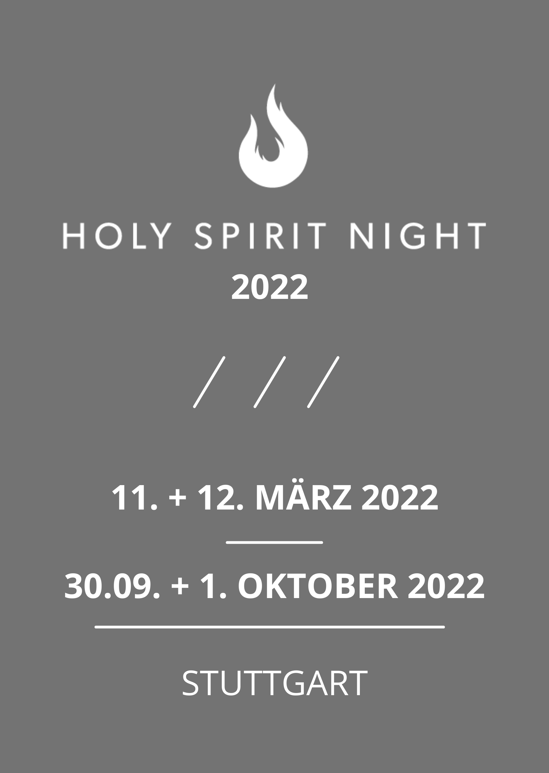 Holy Spirit Night 2022