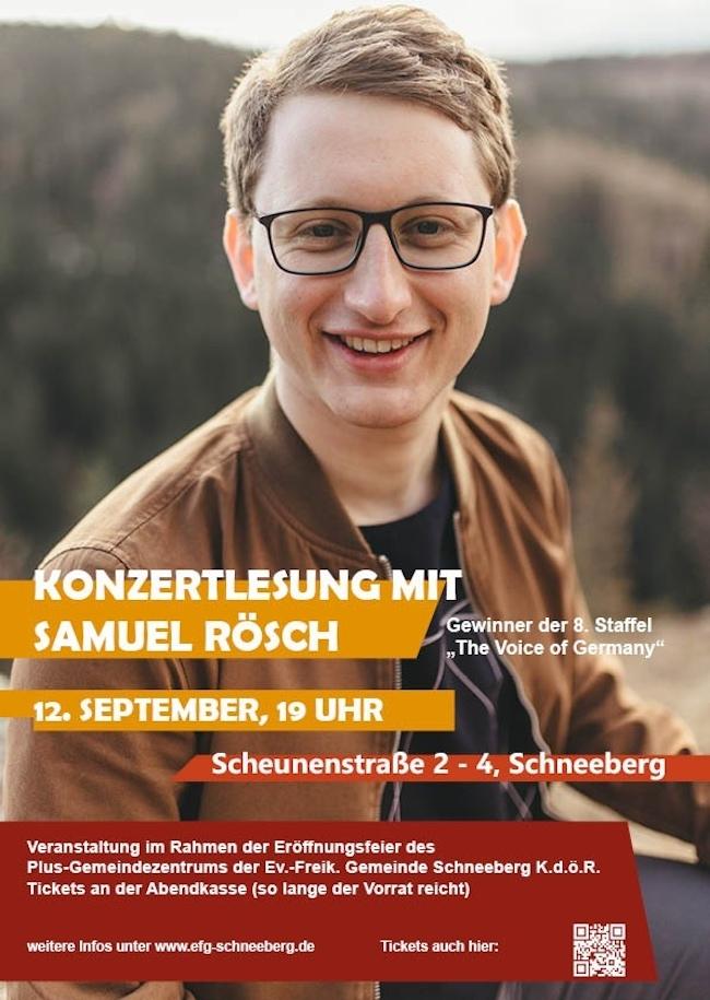 Konzert mit Samuel Rösch