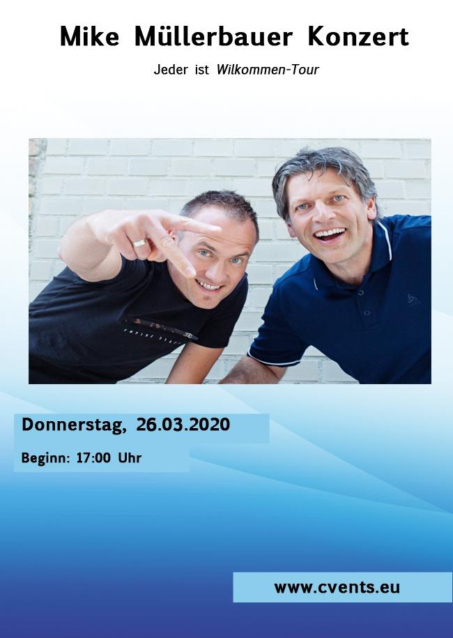 Mike Müllerbauer Konzert