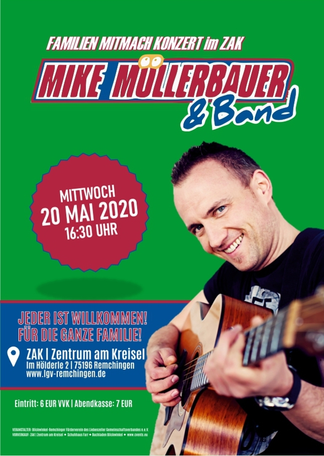 MIKE MÜLLERBAUER & Band