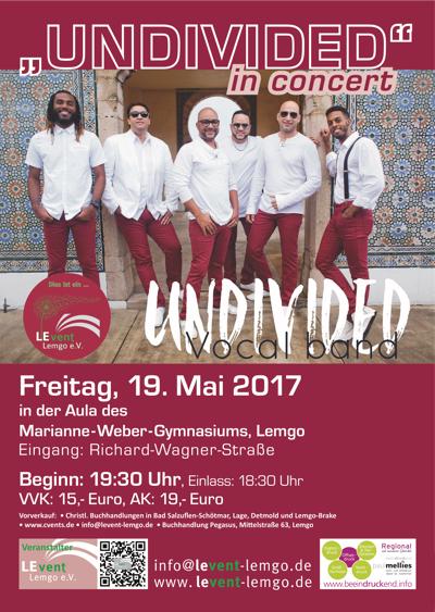 UNDIVIDED in Concert