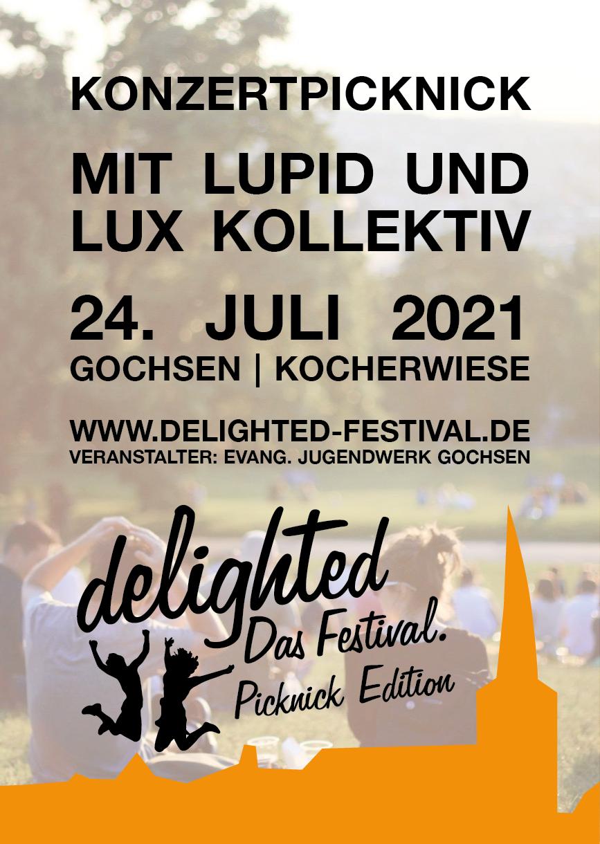 delighted - Das Festival. 2021 - Picknick Edition