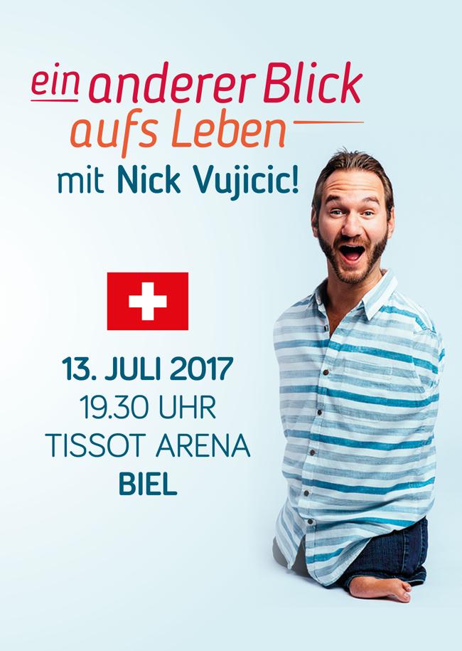 Ein anderer Blick aufs Leben mit Nick Vujicic