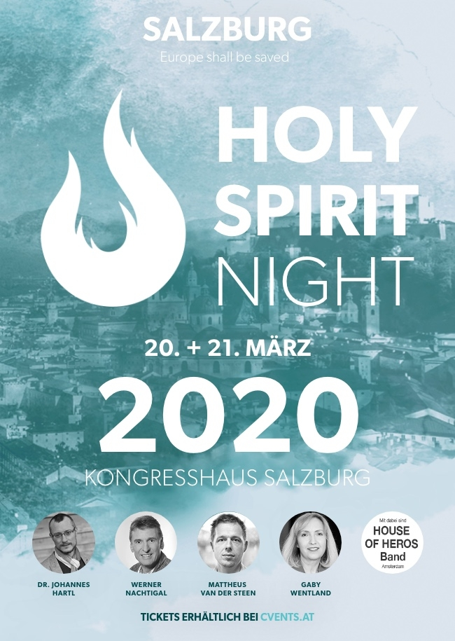 HOLY SPIRIT NIGHT Salzburg 2020