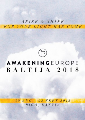 Awakening Europe Baltija Riga 30082018 Cvents