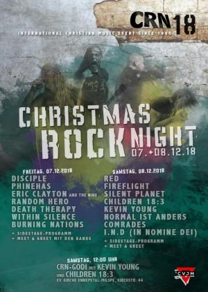 Christmas Rock Night 2018