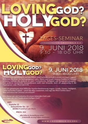 Holy God? Loving God?