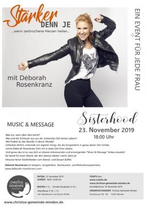 Déborah Rosenkranz - Stärker denn je