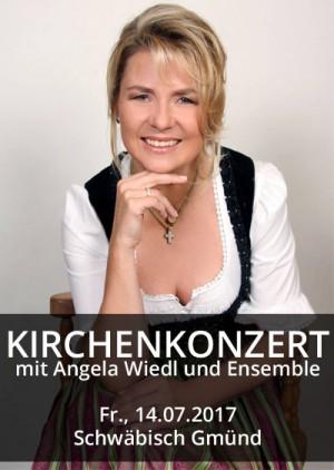 Kirchenkonzert mit Angela Wiedl und Ensemble