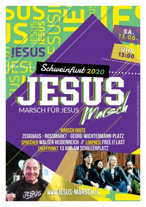 Jesus Marsch 2020 in Schweinfurt