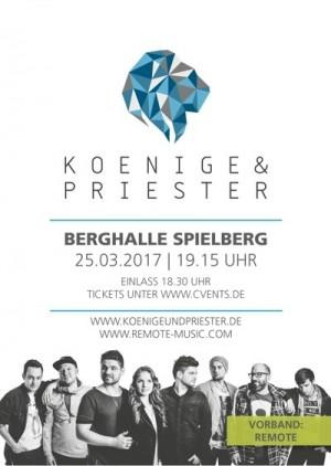 Konzert Koenige & Priester mit Vorband Remote