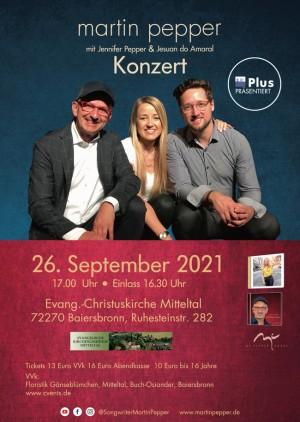 Martin Pepper Trio Live in Baiersbronn