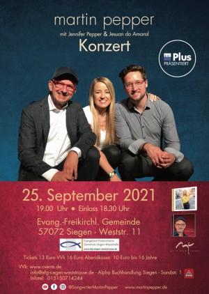 Martin Pepper Trio Live in Siegen