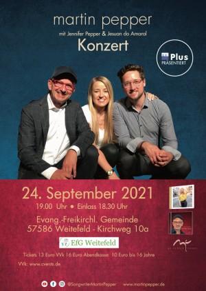 Martin Pepper Trio Live in Weitefeld