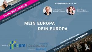 Mein Europa - Dein Europa