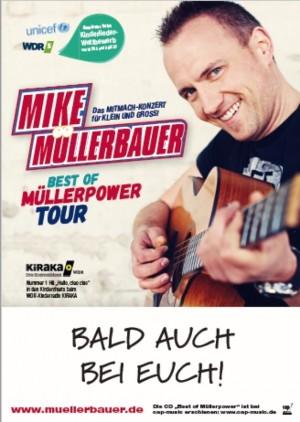 Mike Müllerbauer Konzert um 17.30 Uhr