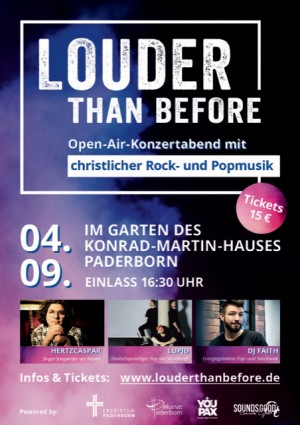 LOUDER THAN BEFORE - Open Air