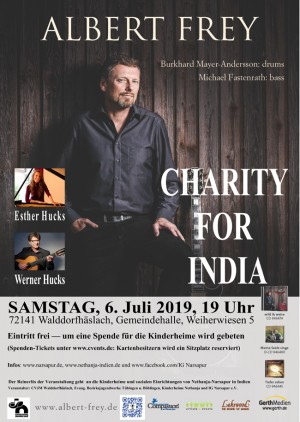 CHARITY FOR INDIA – der Nethanja-Kulturabend 2019