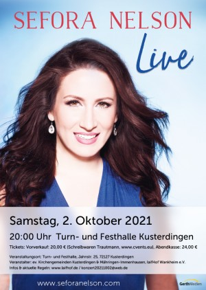 Sefora Nelson Live-Konzert