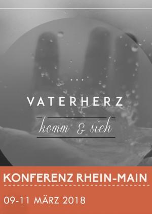 """Vaterherzkonferenz Rhein-Main """"komm&sieh"""""""