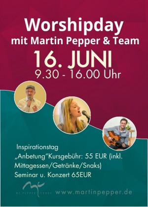 Worship Day mit Martin Pepper