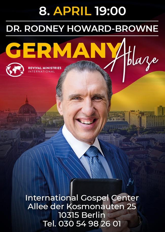 Rodney Howard-Browne in Berlin