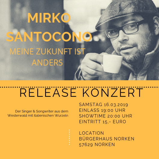 Release - Konzert Mirko Santocono