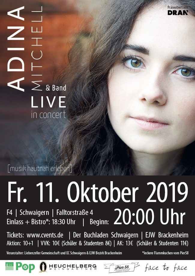 Adina Mitchell & Band live in concert