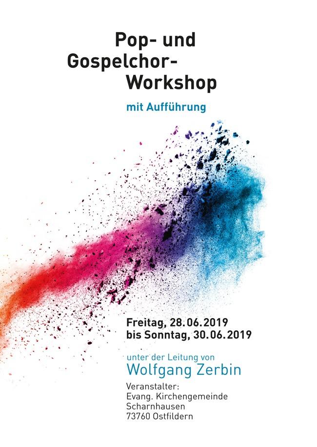 Pop- und Gospelchor-Workshop mit Wolfgang Zerbin