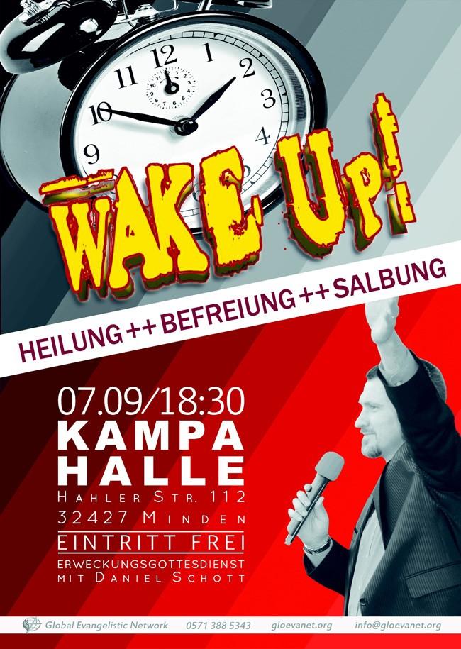 WAKE UP! – Erweckungs- und Heilungsgottesdienst