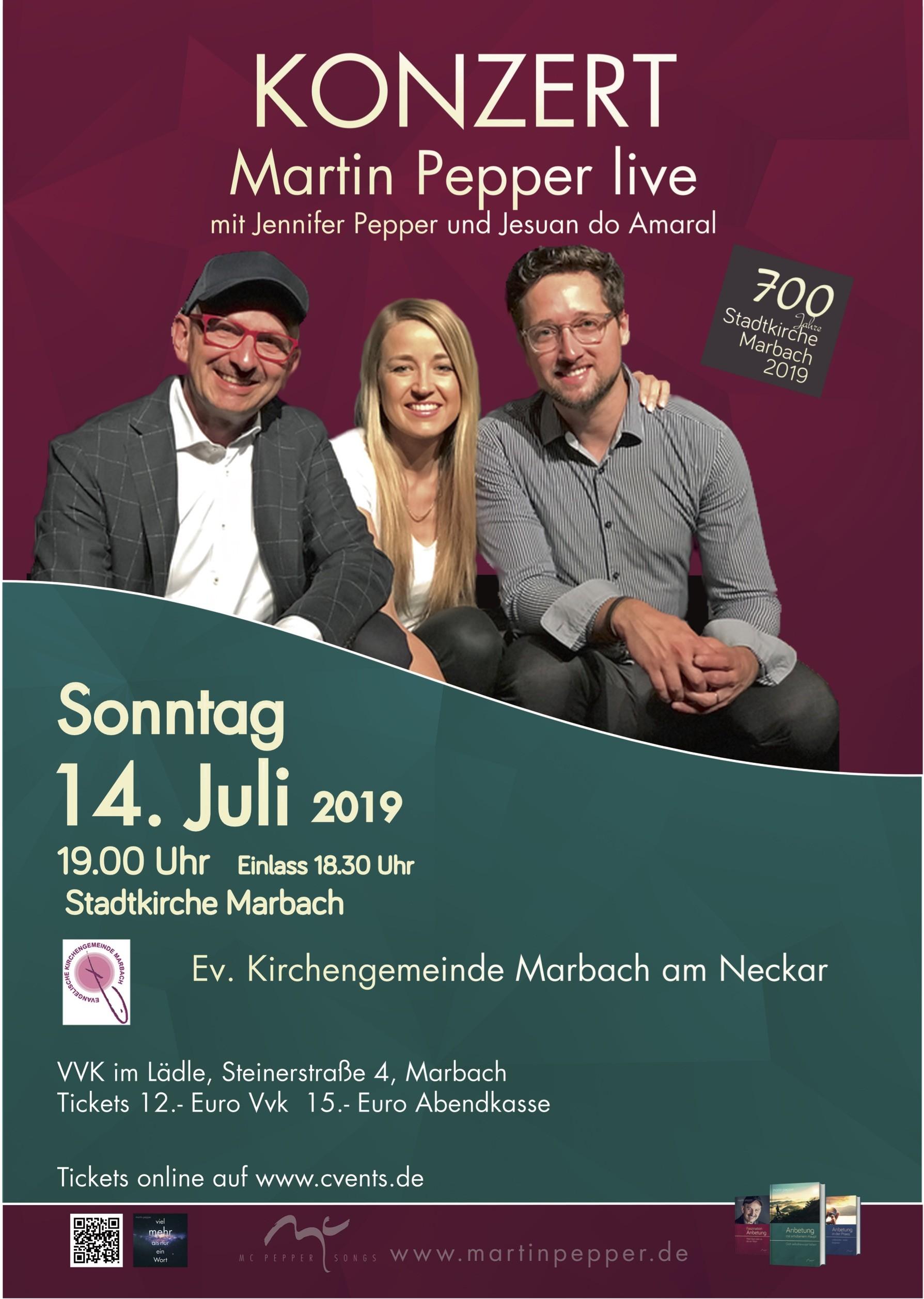 Martin Pepper live in Marbach am Neckar
