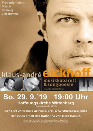 "Klaus André Eickhoff Musik-Kabarett ""Frag mich nicht"""