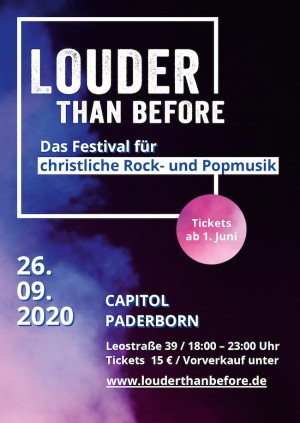 Louder Than Before