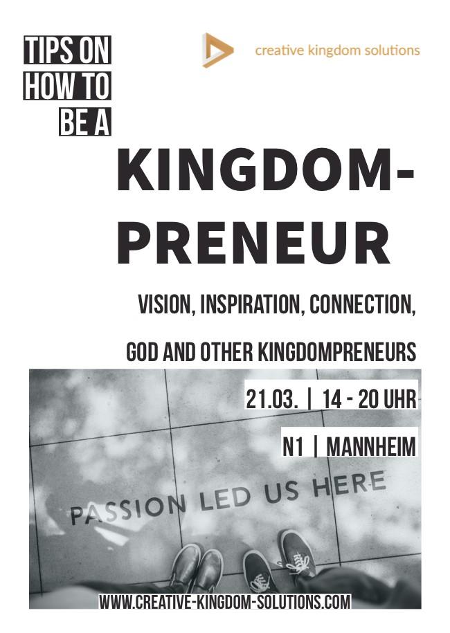 CKS Kingdompreneur-Day