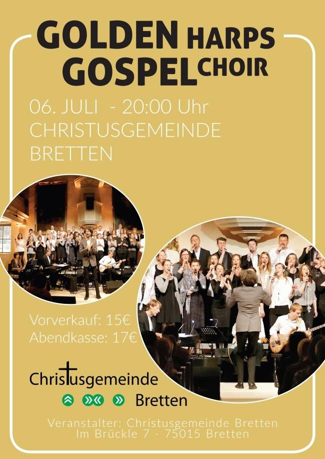 GOLDEN HARPS Gospelkonzert
