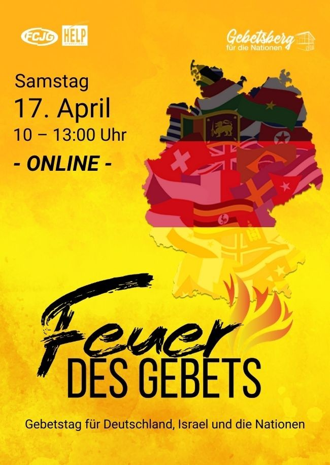 Fire of Prayer - online event