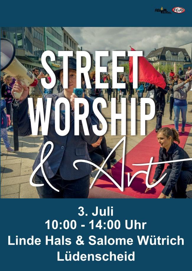 »Street Worship & Art« - Projekttag