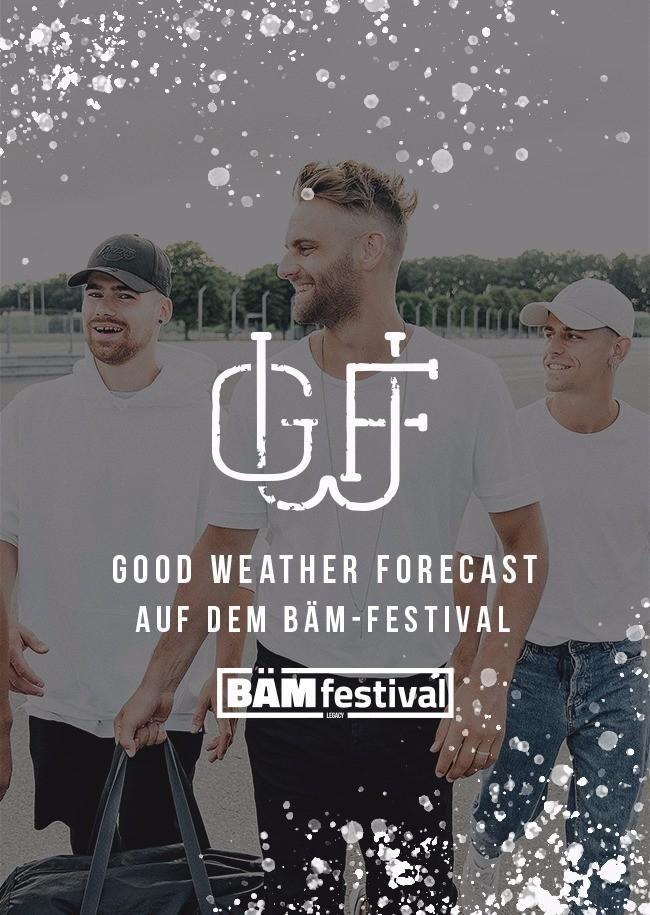Good Weather Forecast Konzert