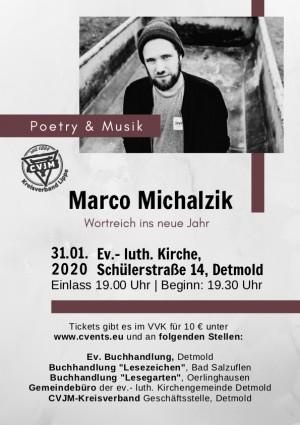 Marco Michalzik - Poetry&Musik