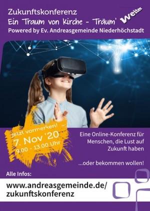 """Zukunftskonferenz """"Ein Traum von Kirche  - Träum weiter!"""""""