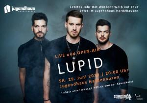 Lupid   Livekonzert - Open-Air