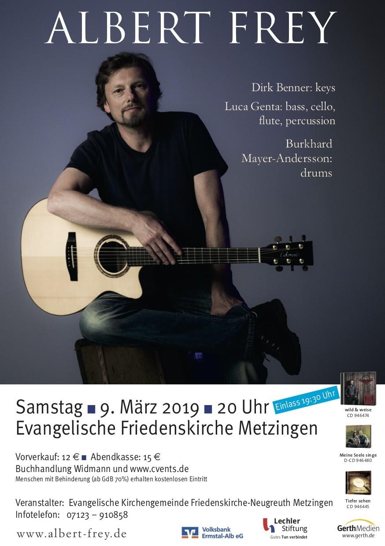 Albert Frey Konzert