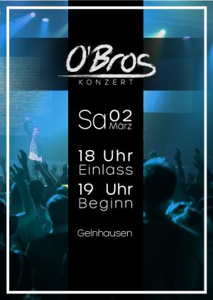 O´Bros Konzert in Hessen