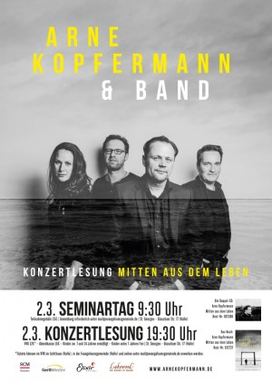 Konzertlesung Arne Kopfermann & Band