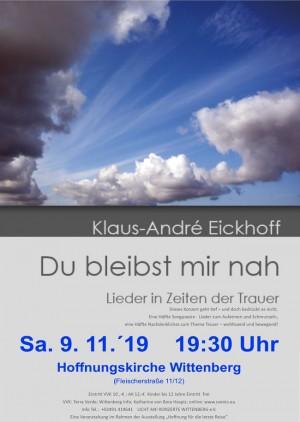"Klaus-André Eickhoff ""Du bleibst mir nah"""